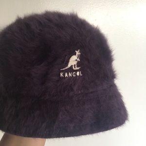 Furry Purple KANGOL Furgora Bucket Hat